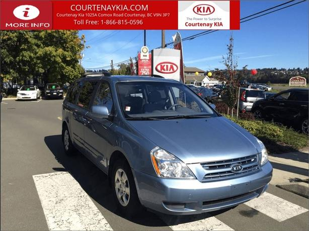 2009 Kia Sedona EX | 1 Owner | Low KMs