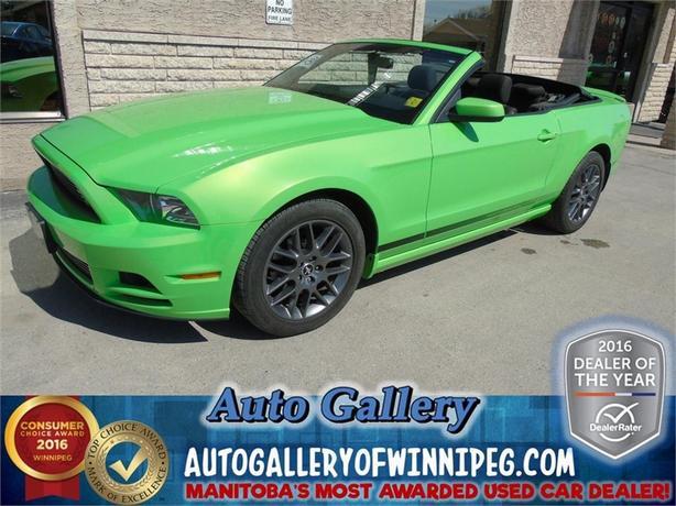 2013 Ford Mustang V6 Prem. Convertible