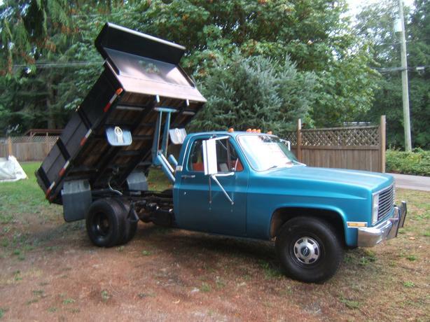 Single axle Dumptruck