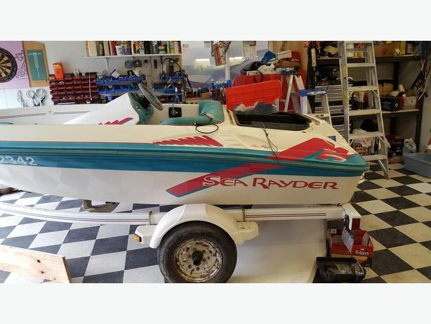 Sea Rayder Up Start sport jet boat ** project ** (REDUCED)