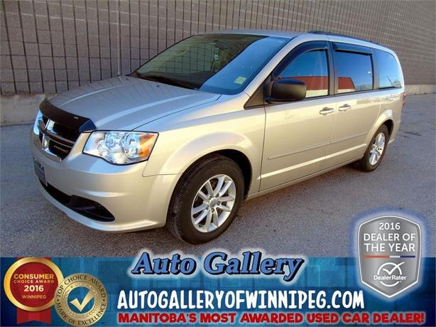 2015 Dodge Grand Caravan SXT *Stow/R.Air/DVD*