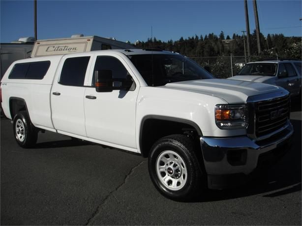 2015 GMC Sierra 3500HD Crew Cab Long Box 4WD