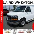 2015 GMC Savana Cargo Van 8600 GVW and power group w/cruise