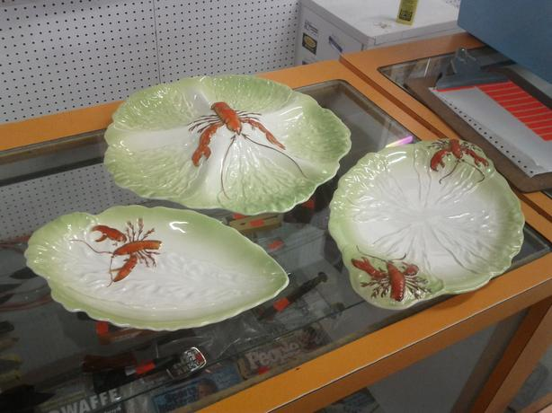 Set of 3 Lobster Plates