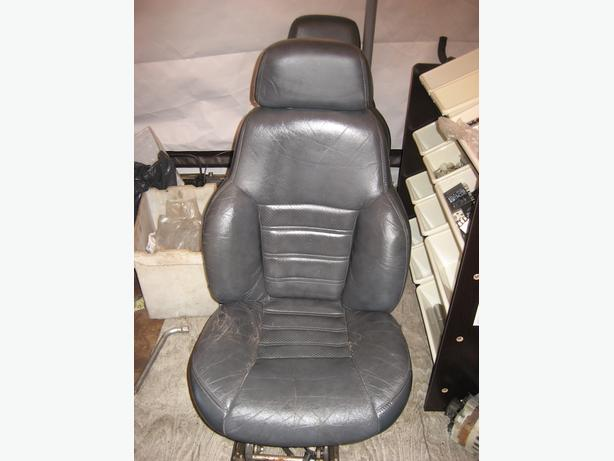 leather power seats