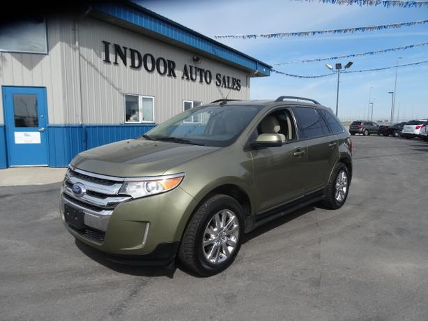 2013 Ford Edge SEL #1498 INDOOR AUTO SALES WINNIPEG
