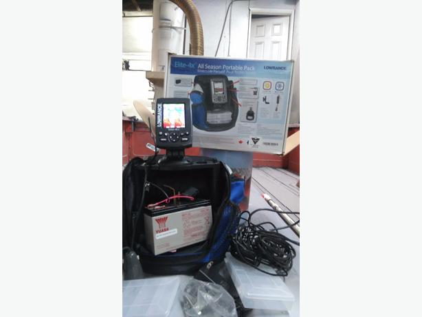 Lawrence Portable Fish Finder Saanich Victoria