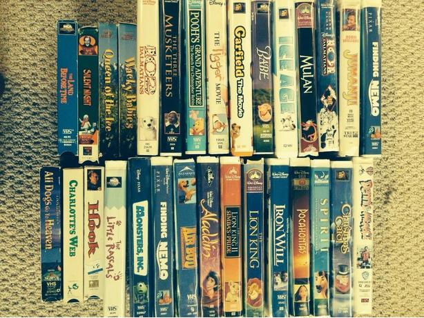 CHILDREN'S VIDEOTAPE MOVIES