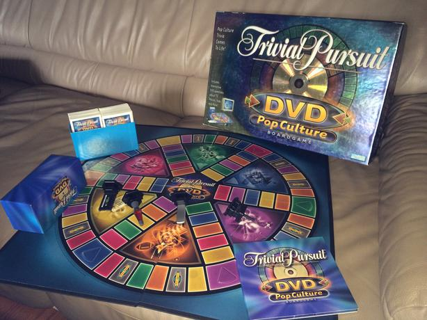 Trivial Pursuit DVD Pop Culture Board Game