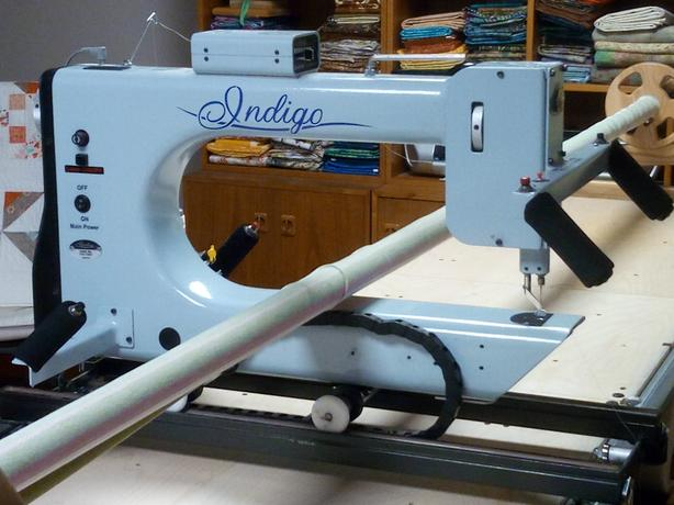 used nolting quilting machine