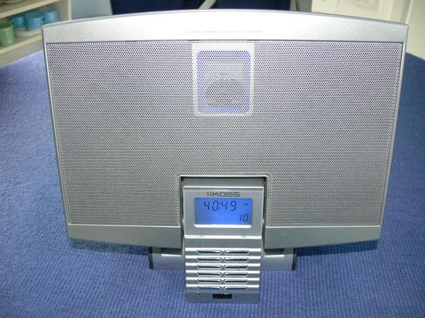 KOSS CD, AM/FM hi-Fi Stereo System