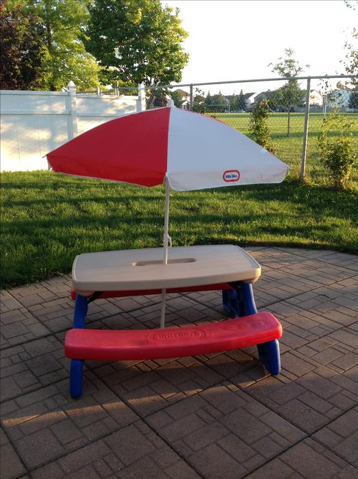 Little Tikes Picnic Table Orleans Ottawa