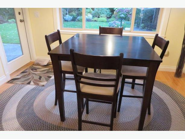 Counter Height Square Table and Chairs Qualicum Nanaimo : 55253166614 from www.usednanaimo.com size 614 x 461 jpeg 49kB