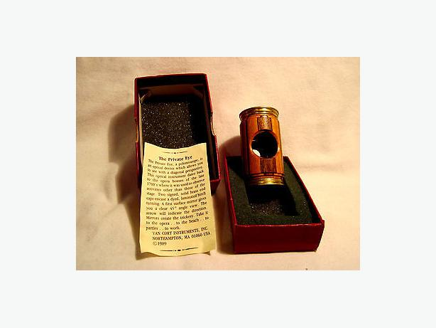 Van Cort Brass & wood Polemoscope