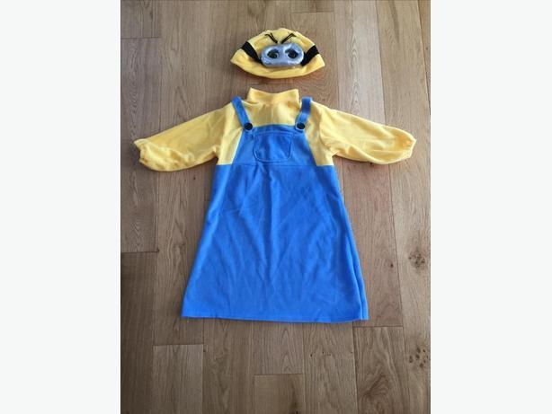 Child Halloween Costume - Girl Minion
