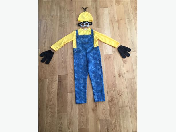 Child Halloween Costume - Boy Minion