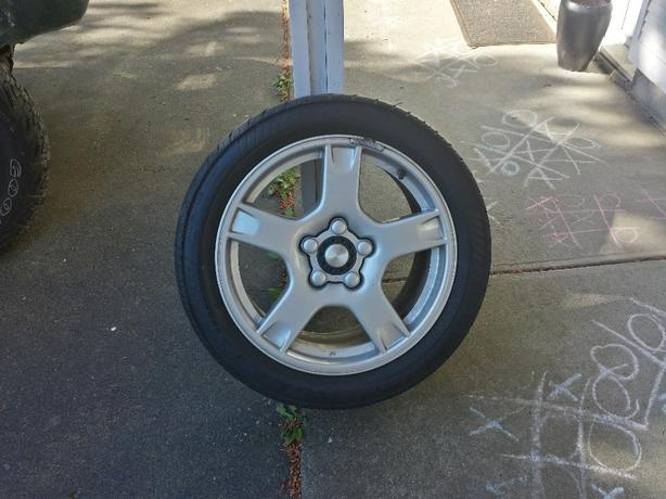 Chevy/Corvette rims