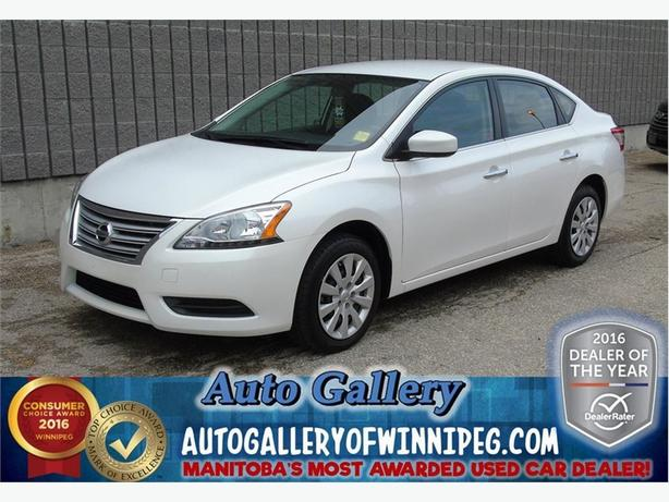 2015 Nissan Sentra S* Super low kms!