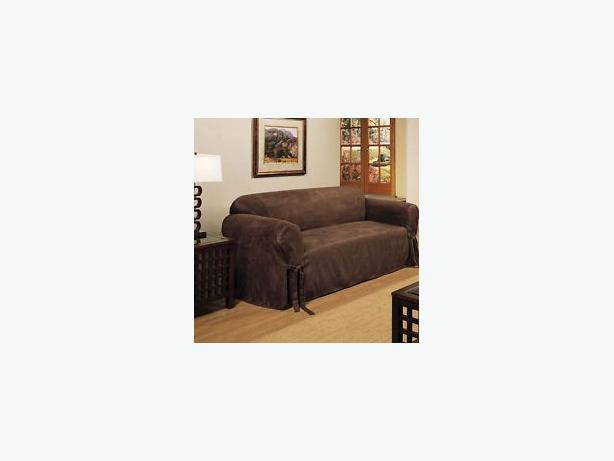 Chocolate Brown Sofa Cover West Shore Langford Colwood
