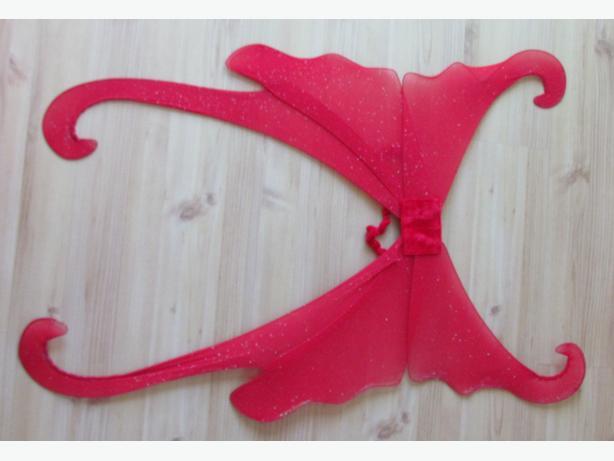 Halloween Costume - Red Devil / Fairy Wings