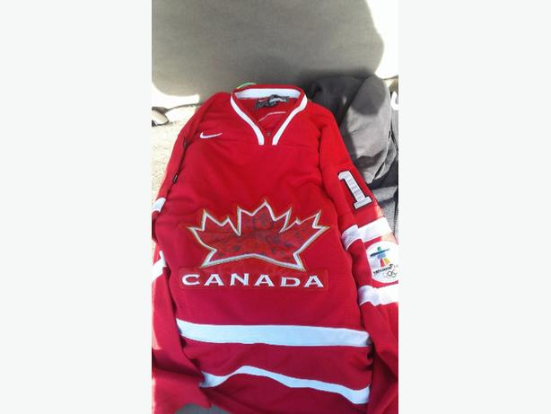 $60 obo Luongo team Canada 2010 Olympic jersey