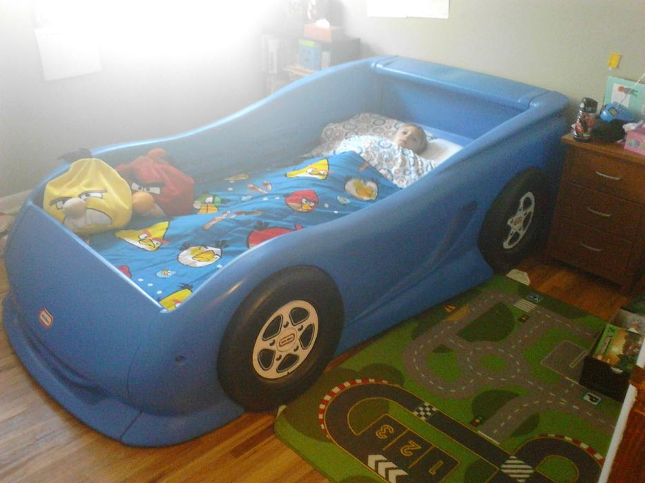 Little Tikes Car Bed Frame Used
