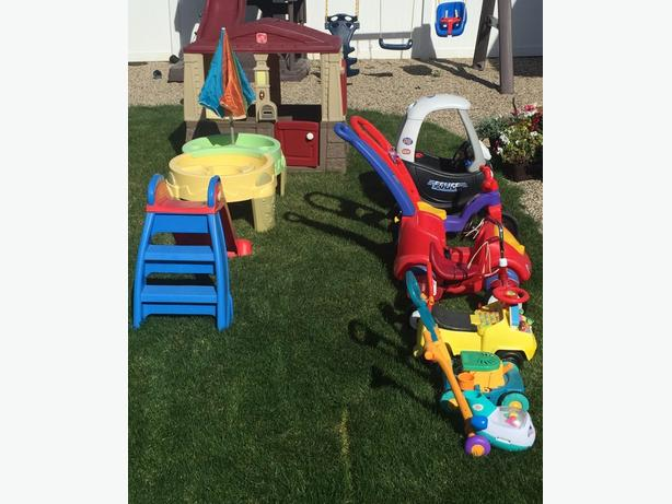 Used Yard Toys : Kids outdoor toys for sale buy the lot east regina