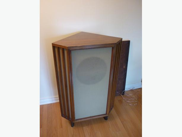 Rare TANNOY SILVER 12 LSU/HF 12/L in Beautiful Corner Cabinet