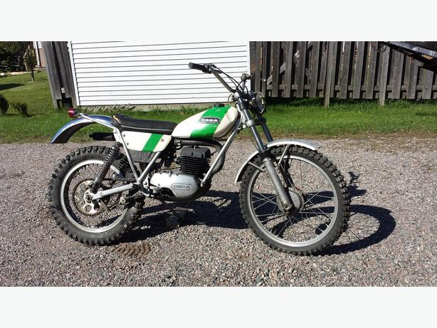 Reduced-For Sale Vintage 1972 Ossa Mich Andrews Trail  Replica 250 bike
