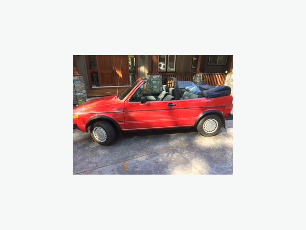 Mint condition 1987 VW Cabriolet