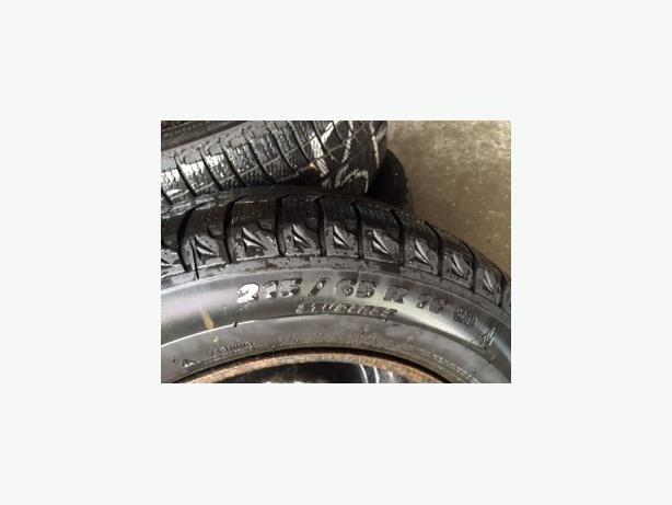 Winter tires and rims - qty 4