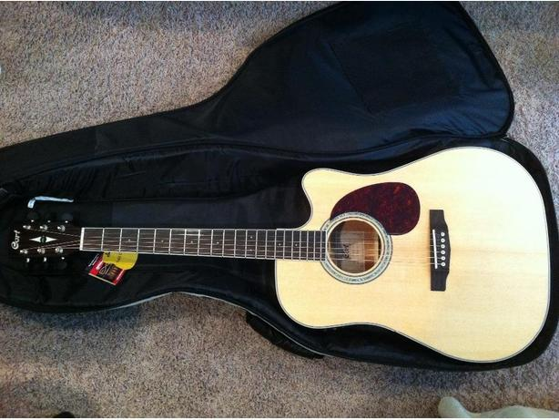 Cort (MR710F NS) Series Acoustic / Electric Guitar
