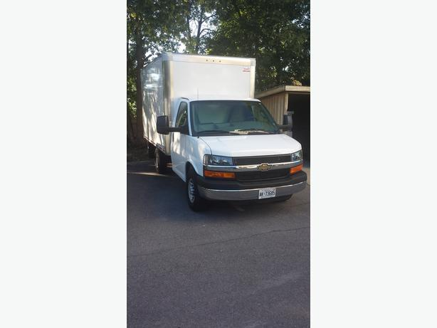RENT THIS CUBE VAN ( with driver )  .. YOU LOAD + UNLOAD