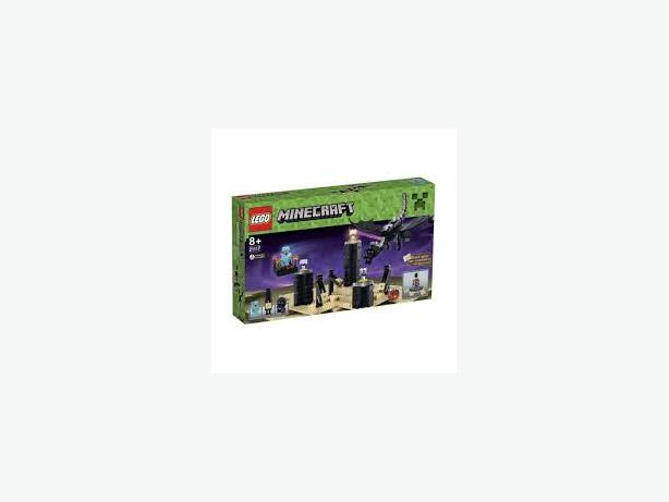 LEGO Minecraft Enderdragon set