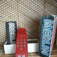 Records, M&M Shower Radio, Merlin Portable Game  and Shillelagh