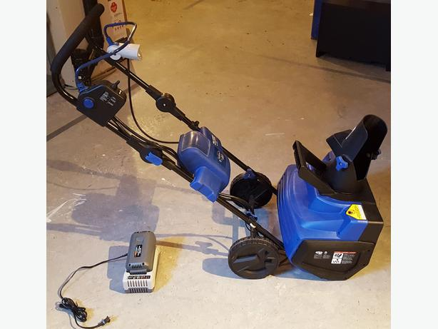 Cordless Electric Snow Blower - $250  OBO