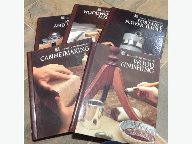 Set of 5 Woodworking Books