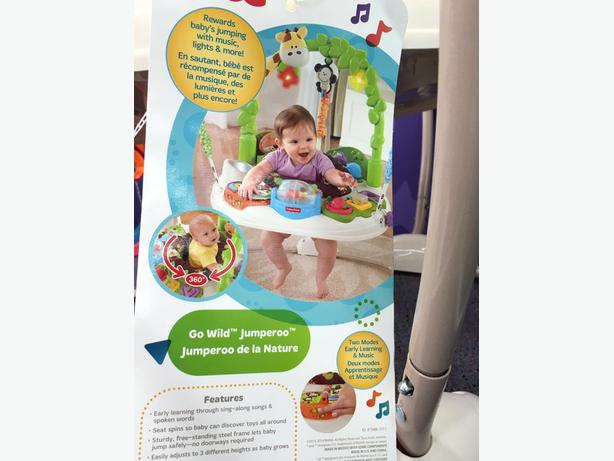 fisher wild jumperoo