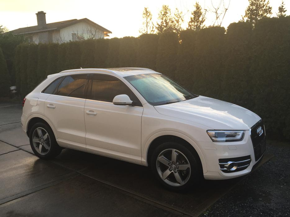 2015 Audi Q3 With Only 12kms And 8 Year Full Extended