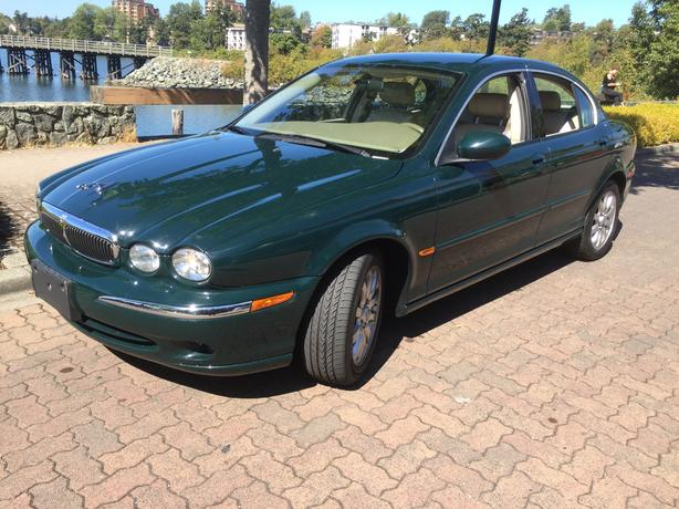 2002  JAGUAR X TYPE AWD