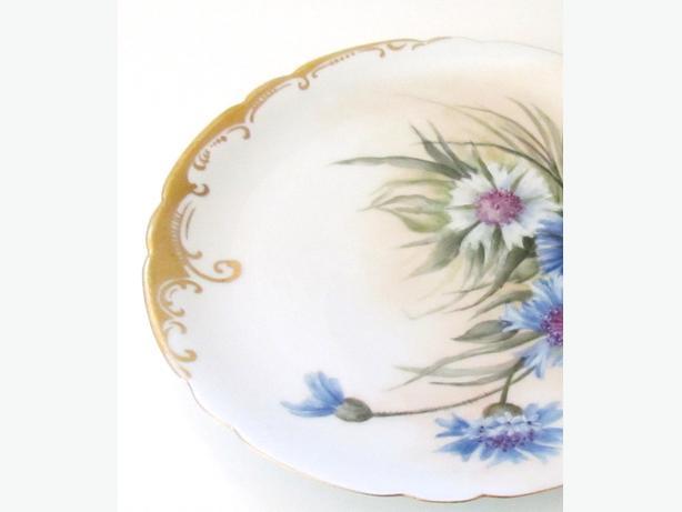 Antique JPL Limoges Porcelain Plate - France