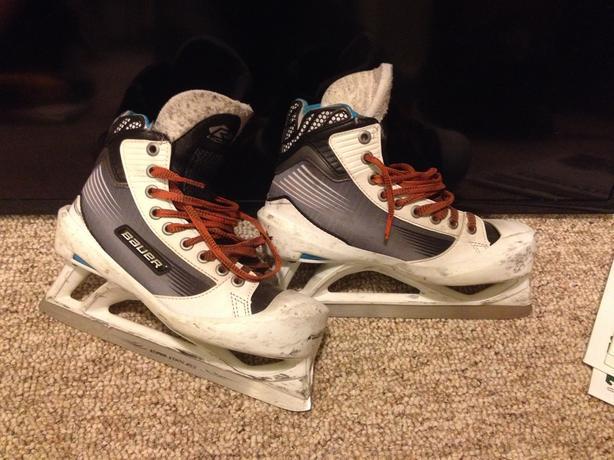 Bauer jr goalie skates 5.5d