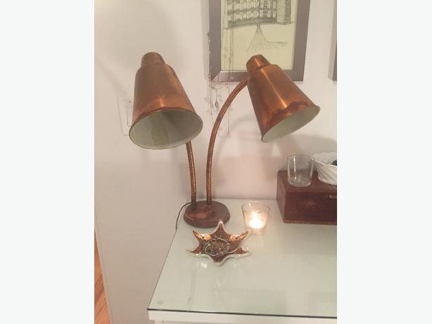 Vintage 1950s table lamp - needs refurbishing