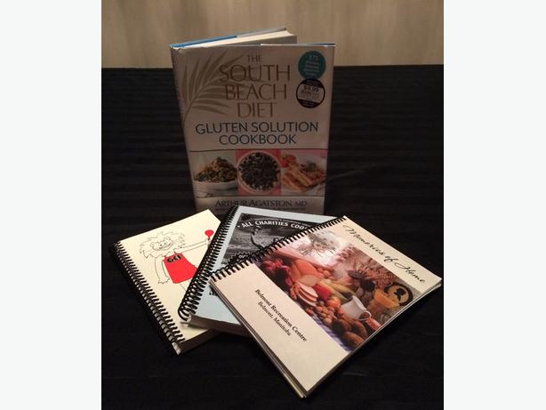 4 cook books