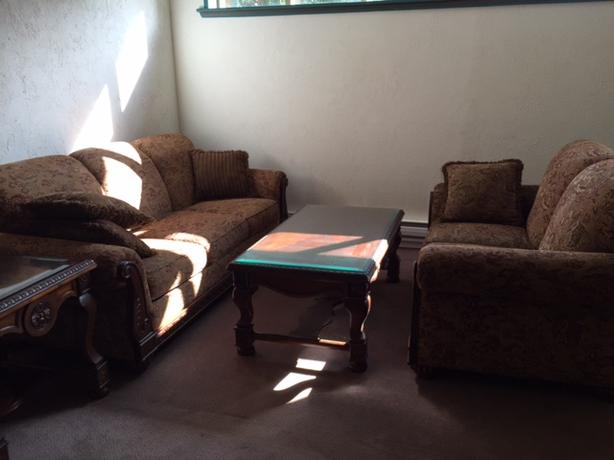 Couches with two matching tables