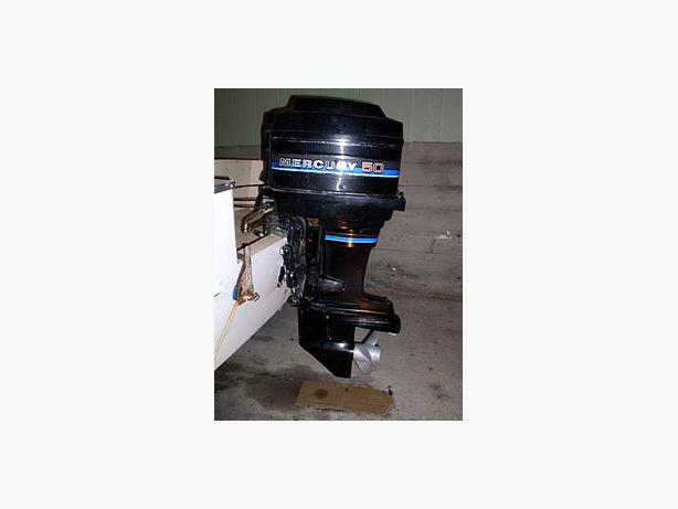 Merc 50 HP Outboard