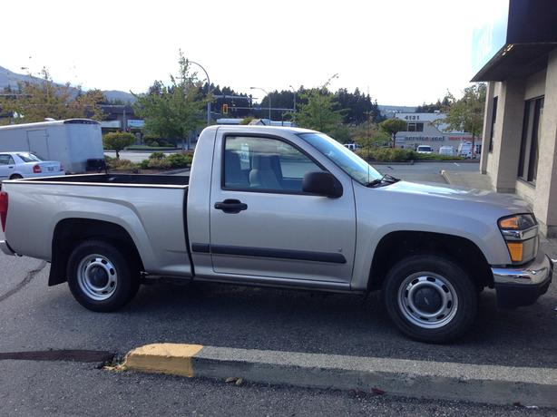 2008 Grey Chevrolet Colorado LS Pick-up Truck for Sale