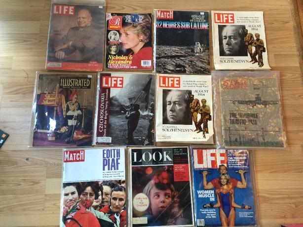 Lot of Vintage Magazines