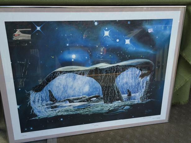 "Large Print ""Cosmic Friendship"" by Eugene Pentz"