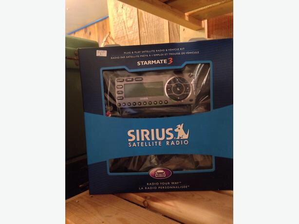 Sirius Satellite Radio Starmate 3